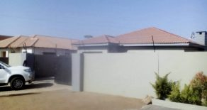 3 Bedroom House for Sale. Block 9, Gaborone.