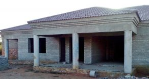 Gaborone North. Incomplete 3-Bed House.