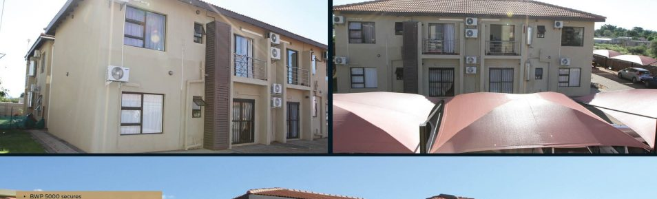 Tlokweng. 12 x 2-Bed Apartments for Sale.