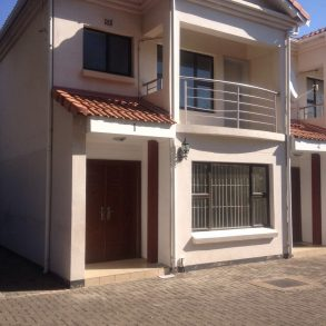 Extension 9. Town House for Rent.